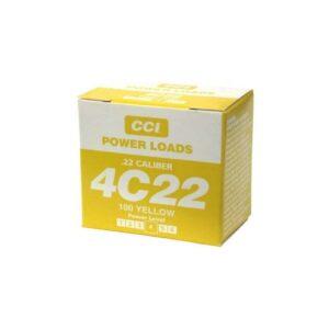 4C22 Power Loads (Yellow) - 100ct. box
